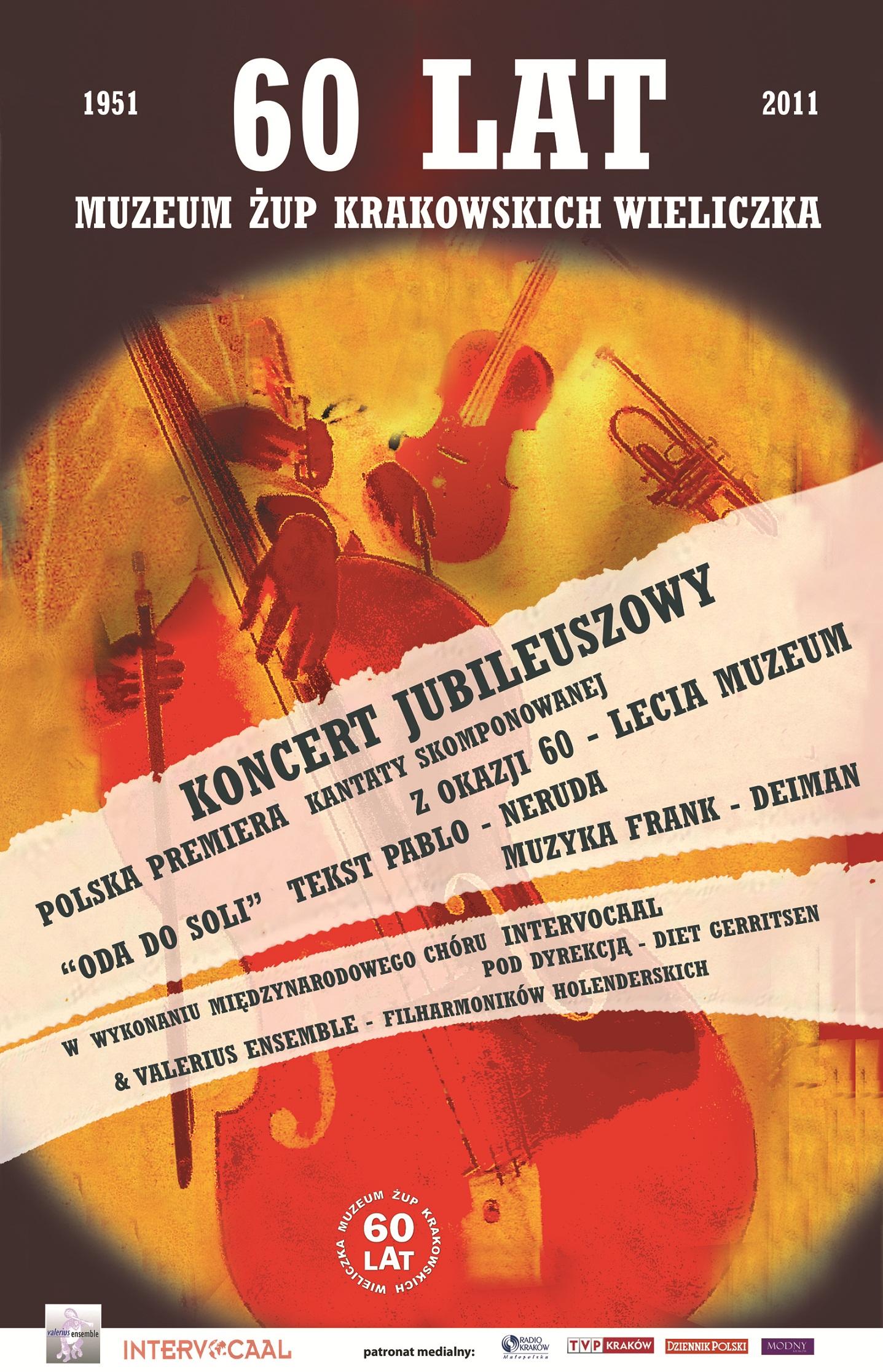 Muzeum Żup Krakowskich Wieliczka - Koncert Jubileuszowy