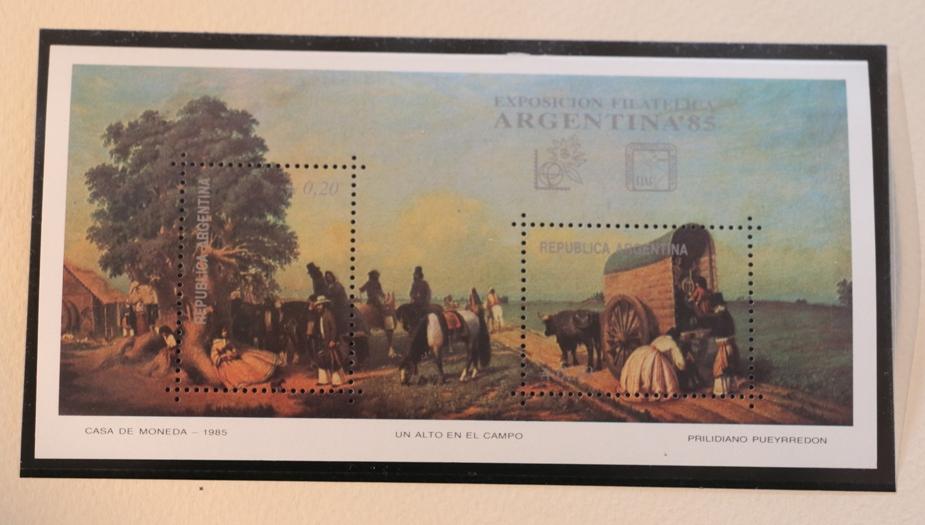 VIA VITA, drogi na znaczkach pocztowych i widokówkach