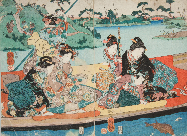 Utagawa Kuniyoshi. In the realm of legend and fantasy