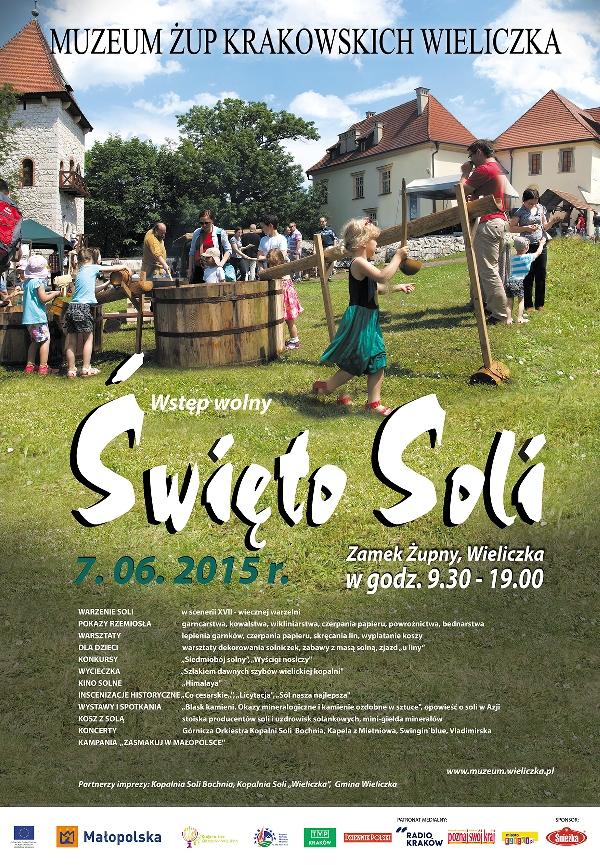 Święto Soli 2015 w Wieliczce