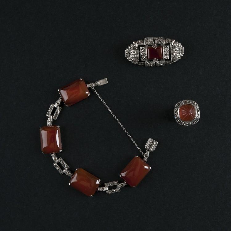 2 Biżuteria art déco_lata 20.XX w._Kolekcja Adama Leja1
