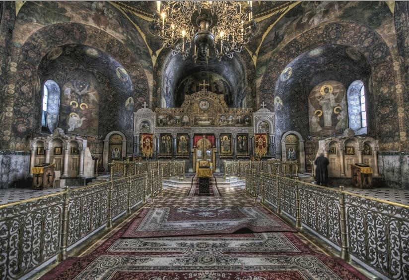 12 Wnętrze cerkwi Św. Antoniego i św. Teodozjusza