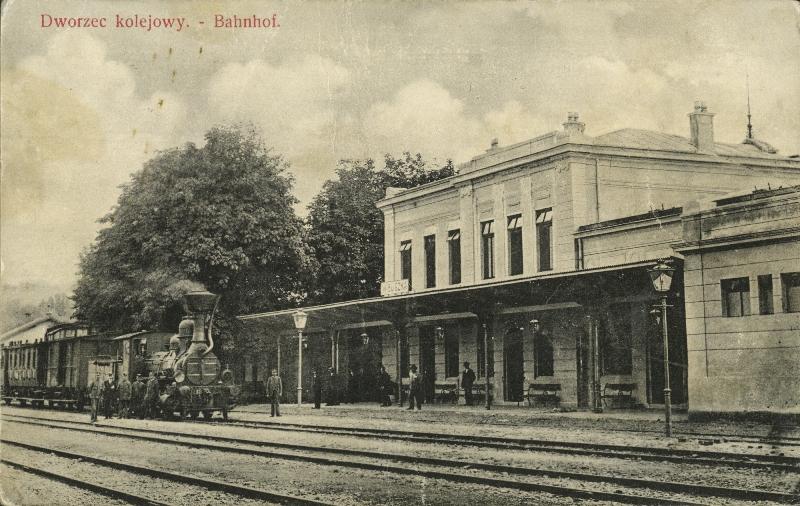 Stacja kolejowa w Wieliczce1
