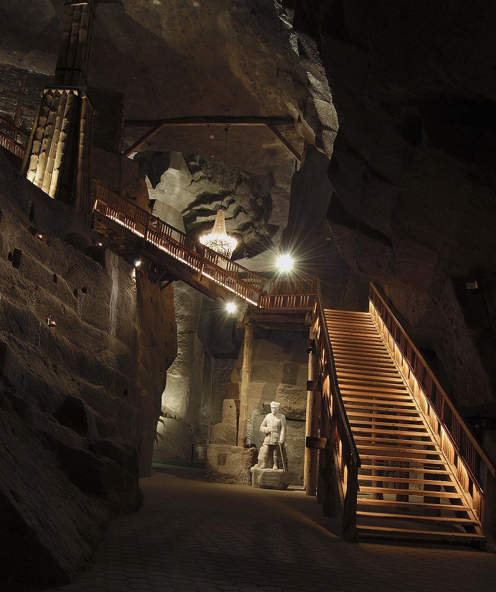 komora Saurau ekspozycja Muzeum w kopalni