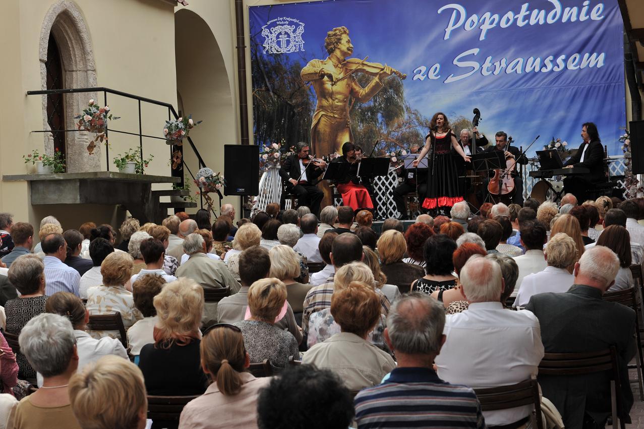 Popołudnie ze Straussem, fot. A. Grzybowski, 2010 r