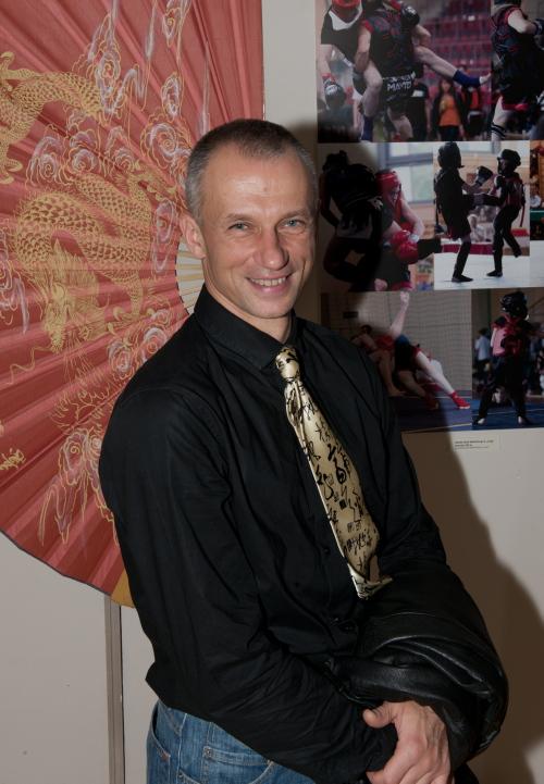 Tomasz Chabowski, mistrz świata w Kung-Fu