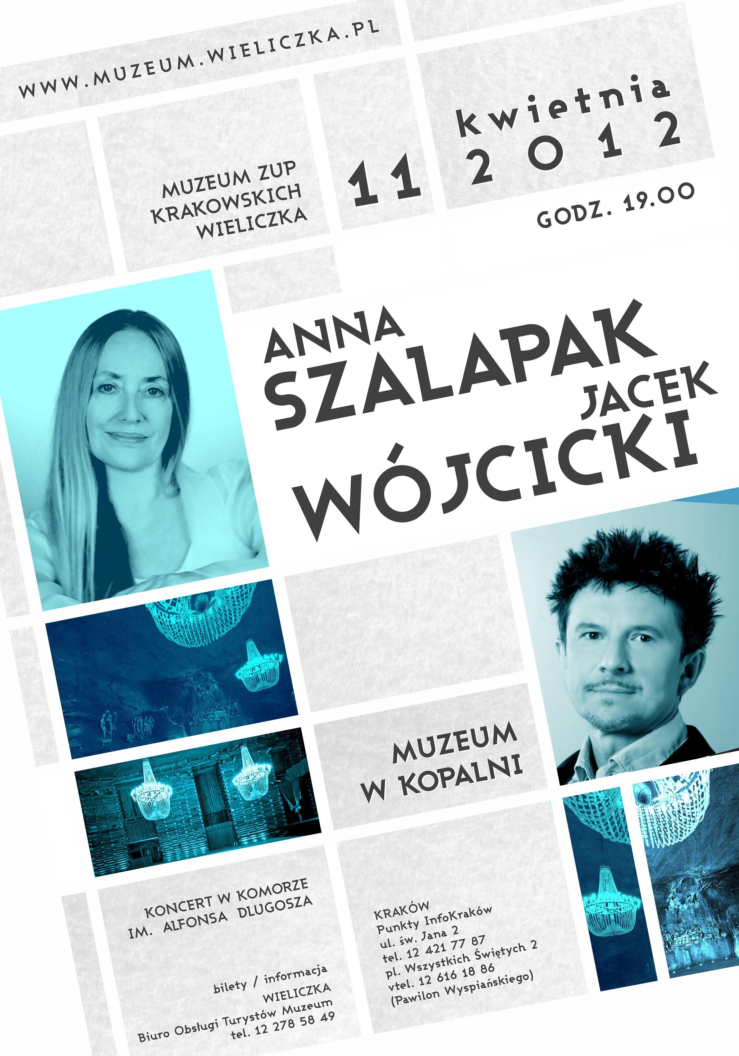 Koncert w wykonaniu Anny Szałapak i Jacka Wójcickiego