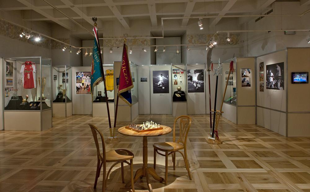 wystawa Sport w Wieliczce XIX -XXI w, fot. L. Kostuś